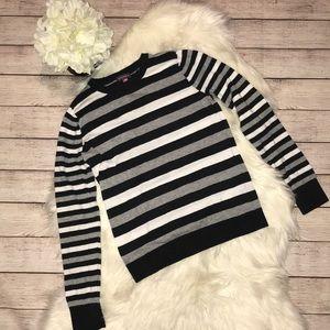 Vince Camuto Stripe Crewneck Sweater